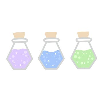 Potions  by chlrr
