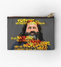 STALLMAN - IT OUGHT TO BE AS FREE Studio Pouch
