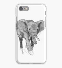 African elephant iPhone Case/Skin