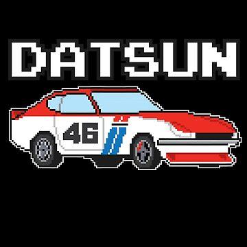 Datsun 240Z BRE 8Bit by Pootermobile04