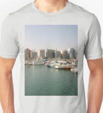 a colourful Bahrain landscape Unisex T-Shirt