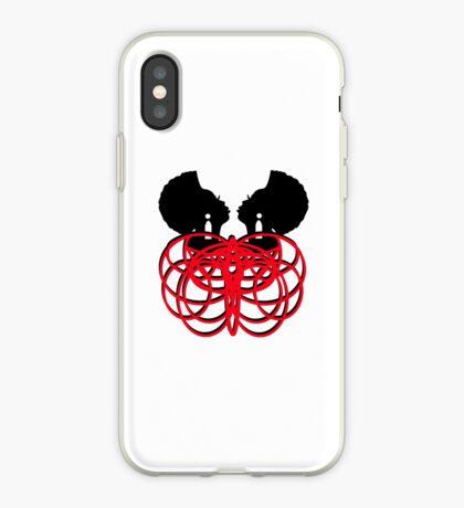 Facing Myself iPhone Case