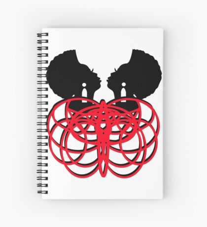 Facing Myself Spiral Notebook