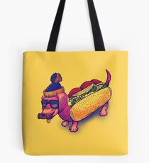 The Chicago Dog Tote Bag