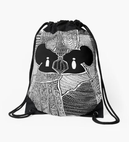 Myself and I Drawstring Bag