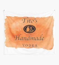 Titos handgemachter Wodka Wandbehang