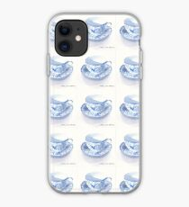 Blue and White Japanese Teacup iPhone Case