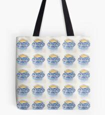 Japanese Teacup Tote Bag