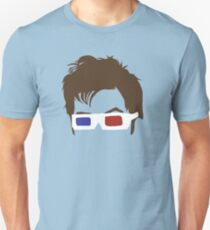 Timelord Glasses Head Unisex T-Shirt