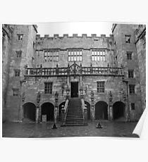 Chillingham Castle Courtyard Poster