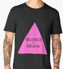 Silence = Death Men's Premium T-Shirt