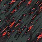 Poppy Talk - Abstract Doodle by Chocodole