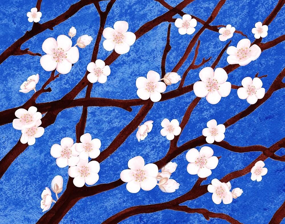 Apple Blossoms by Irina Sztukowski