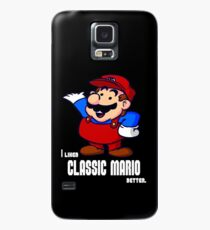 I Liked Classic Mario Better Case/Skin for Samsung Galaxy