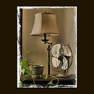 """Granny's Fancy Electric Fan""... prints and products by Bob Hall©"