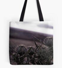 Thistles in The Peak District Tote Bag