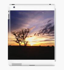 Sunset at 110 iPad Case/Skin