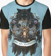 Wolves of Fenris Heraldry Graphic T-Shirt