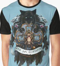 Camiseta gráfica Lobos de Fenris Heráldica