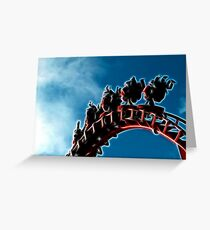 Inversion Greeting Card
