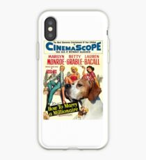 Pointer Art - How To Marry a Millionaire Movie Poster iPhone Case