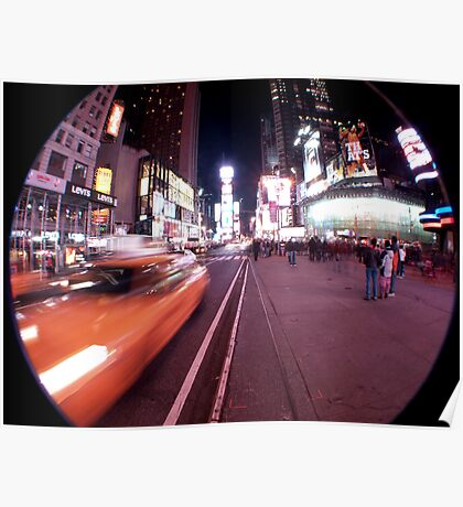 Movement at Times Square Poster