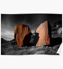 Enchanted Rock Megaliths, Texas Poster