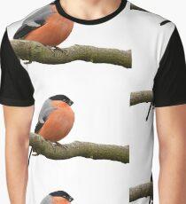 Eurasian Bullfinch Graphic T-Shirt