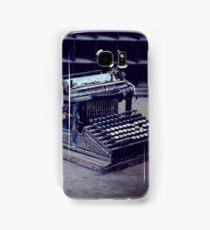 Typewriter Samsung Galaxy Case/Skin