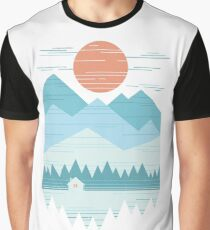 Cabin In The Snow Graphic T-Shirt