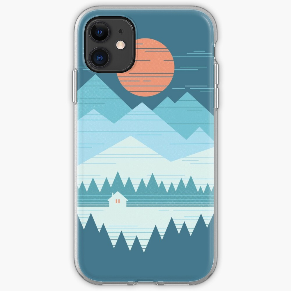 Cabin In The Snow iPhone Case & Cover