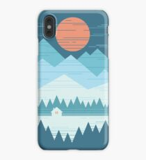 Cabin In The Snow iPhone XS Max Case