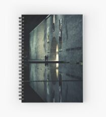 Portal reflection Spiral Notebook