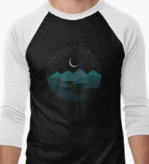 Between The Mountains And The Stars Men's Baseball ¾ T-Shirt