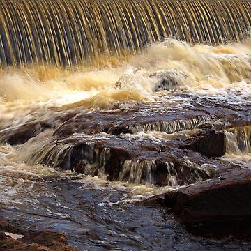 Waterfall Klarälven by Jokus