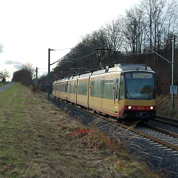 The railroad engine of the class GT8 of German railways. by trainmaniac