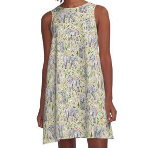 A-Linien Kleid