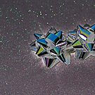 Christmas:  Solarized Silver Stars by Jen Waltmon