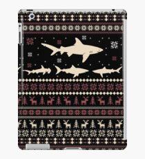 Shark Ugly Christmas Sweater iPad Case/Skin