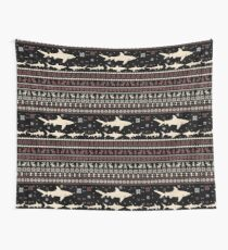 Shark Ugly Christmas Sweater Wall Tapestry