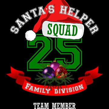 Family Christmas Team Shirt, makes a great matching family shirt by CliqueBank