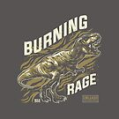 Burning Rage - Unleash Your Inner Beast by flipper42