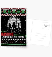 The Walking Dead - Michonne Ugly Christmas Sweater Postcards