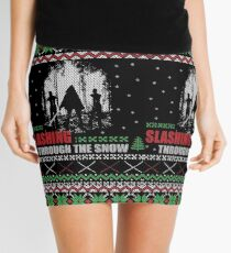 The Walking Dead - Michonne Ugly Christmas Sweater Mini Skirt