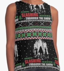 The Walking Dead - Michonne Ugly Christmas Sweater Contrast Tank