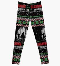 The Walking Dead - Michonne Ugly Christmas Sweater Leggings