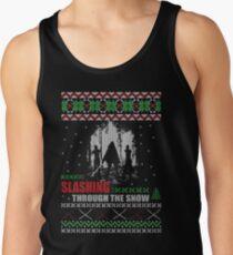 The Walking Dead - Michonne Ugly Christmas Sweater Men's Tank Top