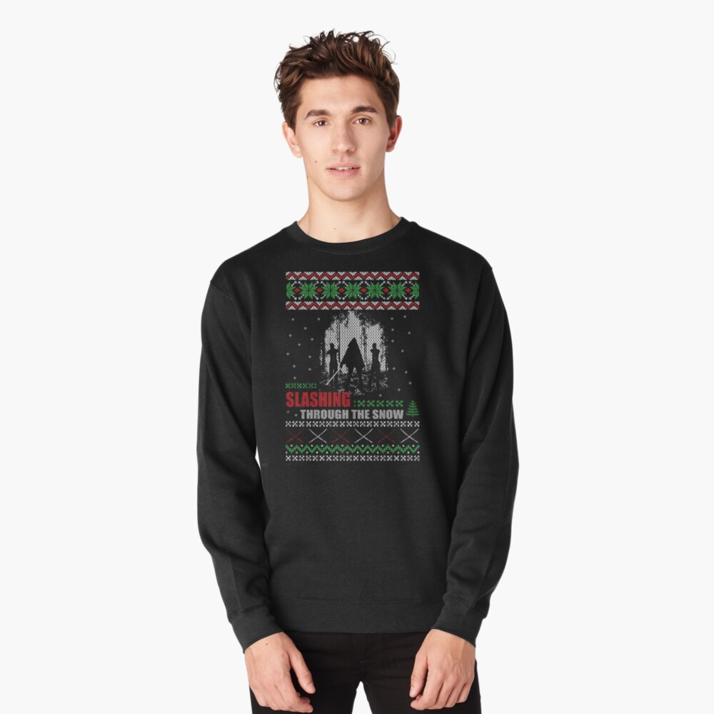 The Walking Dead - Michonne Ugly Christmas Sweater Pullover Front