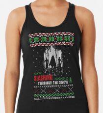 The Walking Dead - Michonne Ugly Christmas Sweater Women's Tank Top