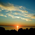 Sunrise Silhouette  by raneangel